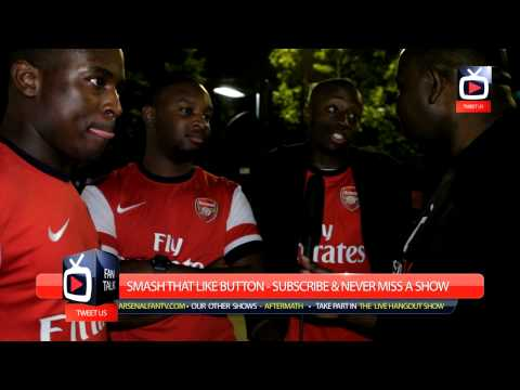 Arsenal FC - Mesut Ozil is World Class say Fans At The Emirates - ArsenalFanTV.com