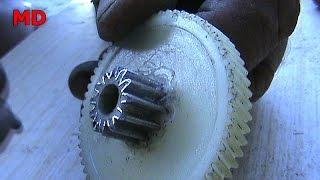 видео Отливка колес и зубчатых венцов