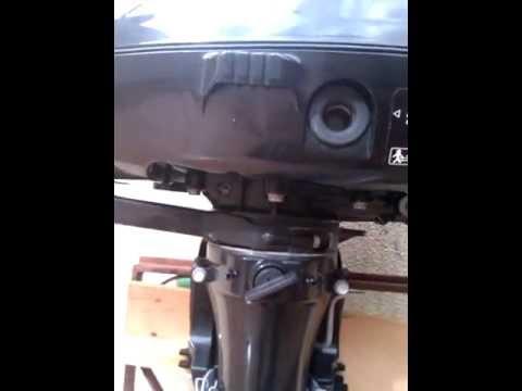 Suzuki DF 6 outboard engine - YouTube