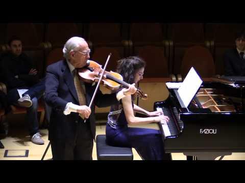 Bruno Giuranna - viola Antonio Stradivari 1715, Clara Dutto - pianoforte,  suonano Marin Marais