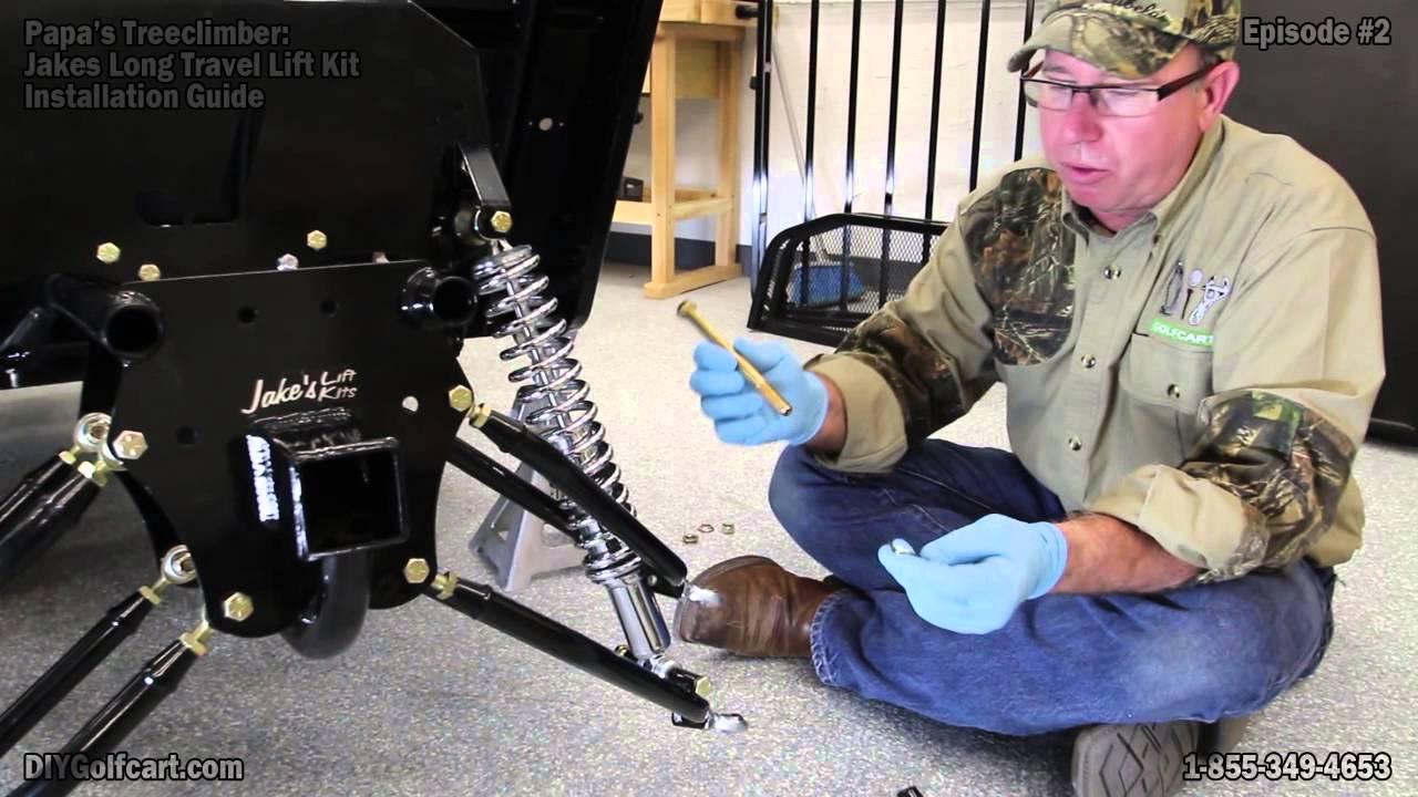 Installing A Lift Kit On Yamaha Golf Cart