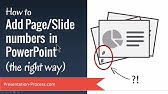 How to add slide numbers in PowerPoint (The Right Way