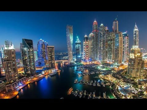 Dubai City of diamonds in  4k