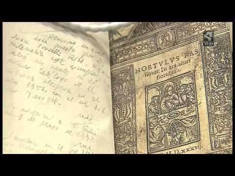 Libro Biblioteca Nacional de España (Aragón TV, 22 Agosto 2013)