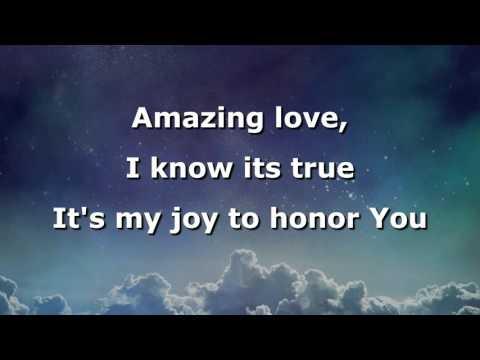 Amazing Love, Instrumental with lyrics