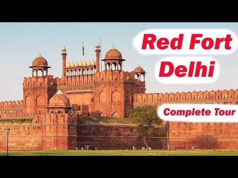 Delhi Red Fort - Lal Qila - Complete Tour