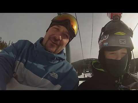 Dallas' first Showdown Ski Area Experience