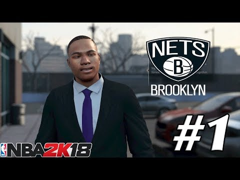 NBA 2K18 MyGM EP 1 | Brooklyn Nets | THIS TEAM NEEDS HELP!