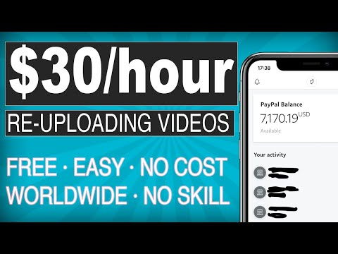 Earn $40 Per Hour Watching And reuploading Videos I MAKE MONEY ONLINE