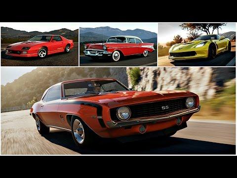 Автомобили марки Chevrolet.
