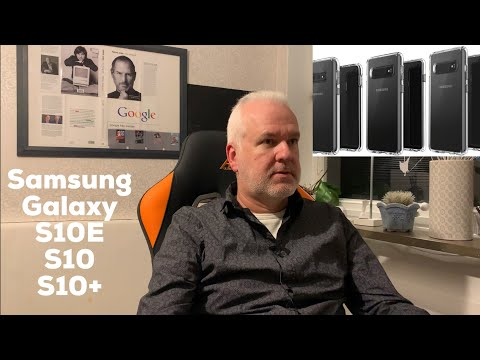 My thoughts on the Samsung Galaxy S10+, Galaxy S10 and Galaxy S10E leak