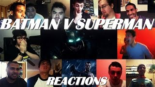 BATMAN V SUPERMAN Dawn of Justice Teaser Trailer #1 REACTIONS