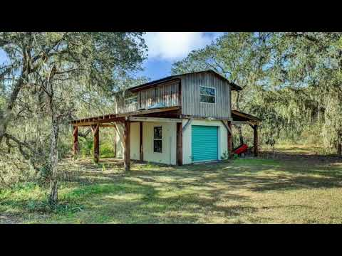Rural And Secluded Home On Acreage In Polk City, FL For Sale