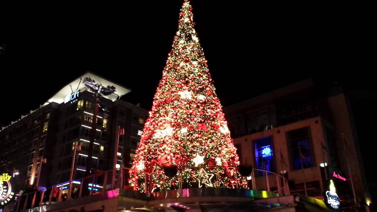 National Harbor Christmas Tree Lighting