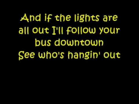 Blondie one way or another lyric