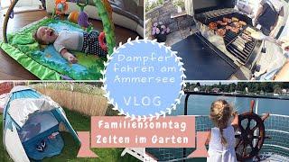 Ausflug an den Ammersee | Familiensonntag | Zelten im Garten | Kathi´s Daily Life