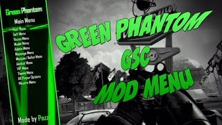Green Phantom Black Ops 2 GSC Mod Menu Preview By Pazzer