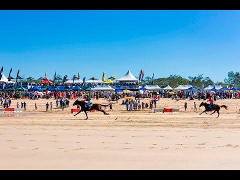 Beach Horse Racing Queensland