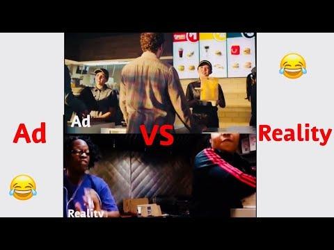 Ads vs real life...