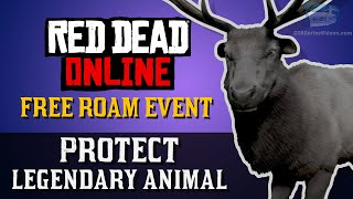 Red Dead Online - Free Roam Event: Protect Legendary Animal [Naturalist Role]