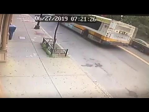 Video Captures MBTA Bus Driver On Wrong Side Of Road