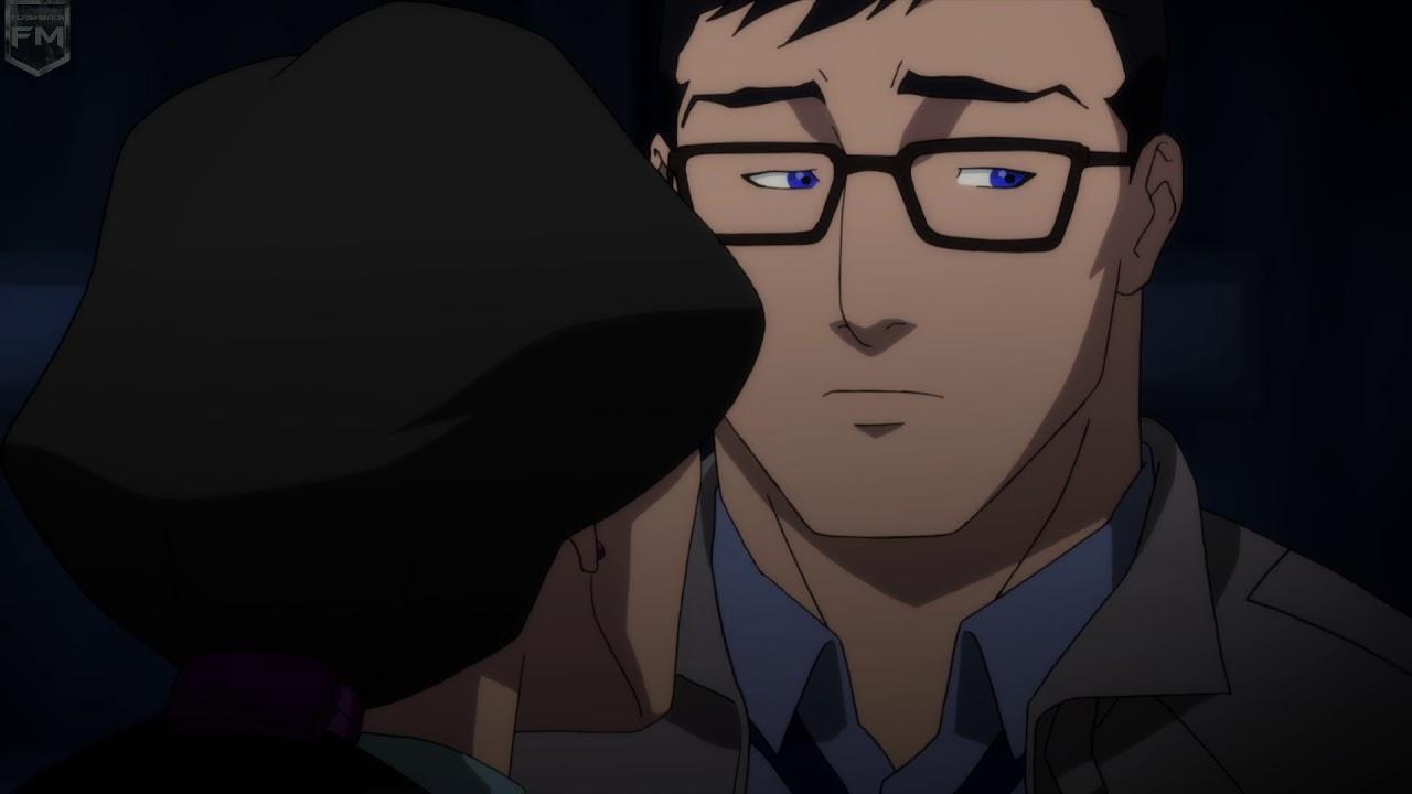 Lois Lane kisses Clark Kent | The Death of Superman - YouTube