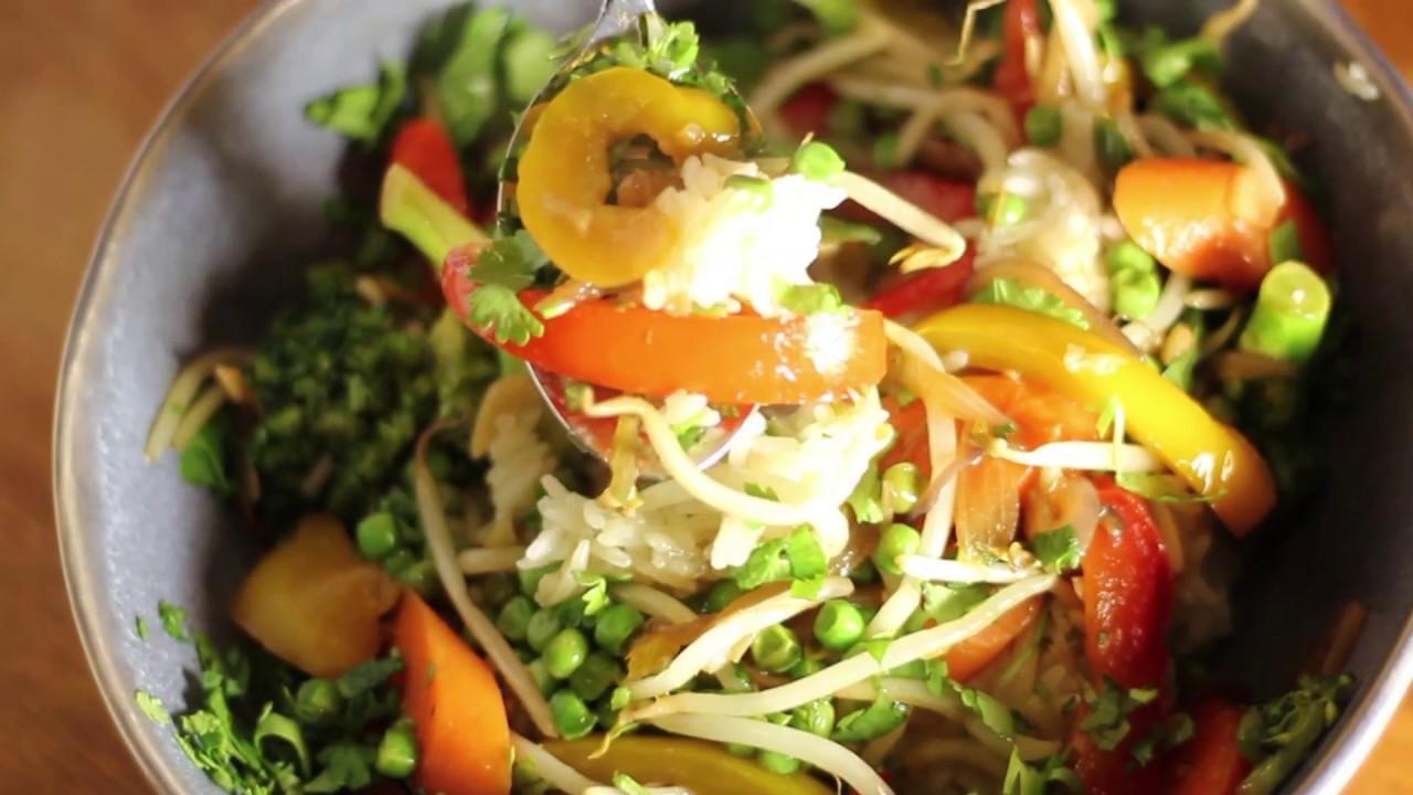Recette Wok De Légumes Savoureux Rapide Et Facile Végétarien