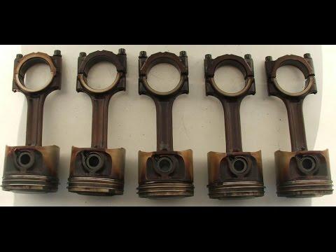 Ремонт двигателя Volvo 5-цилиндров ч.3 Достаем проршни.