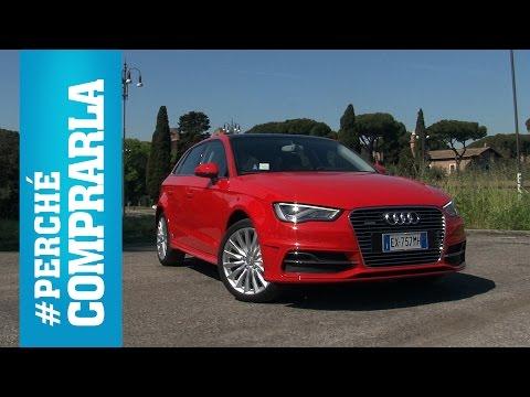 Audi A3 Sportback e-tron | Perché comprarla... e perché no