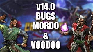 v14.0 Bugs que se Mantienen - Mordo y Dr. Voodoo | Marvel Contest of Champions