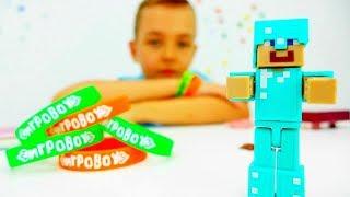 Секреты игры Майнкрафт - Видео со Стивом из Лего Майнкрафт.