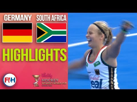 Germany v South Africa | 2018 Women's World Cup | HIGHLIGHTS