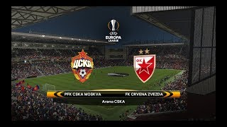 CSKA Moscow vs. FK Crvena zvezda | 21/02/2018 | UEFA Europa League 2017/2018