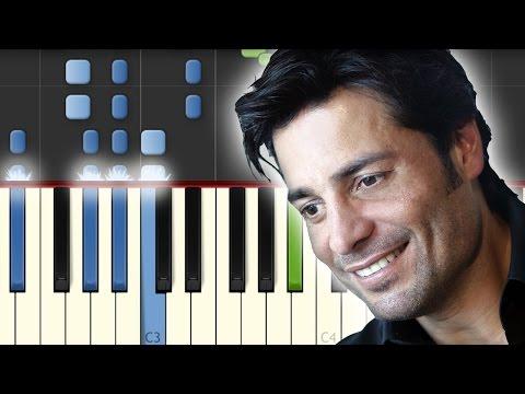 Tiempo de Vals / Chayanne / Piano Tutorial / Synthesia / Midi & Notas Gratis