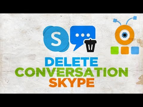 How To Delete Conversation On Skype 2020 | How To Remove Conversation On Skype 2020