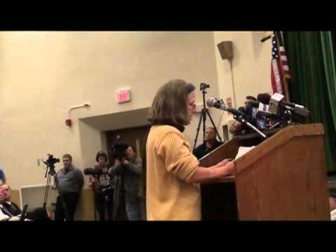 Cranston School Committee Meeting 2012-02-16 Michelle Verducci