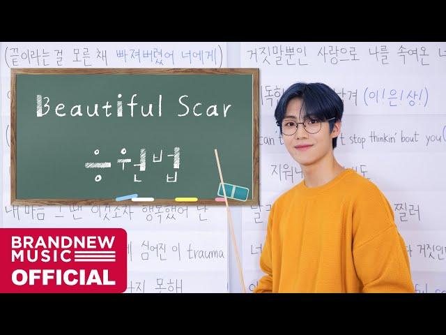 이은상 (Lee Eun Sang) 'Beautiful Scar (Feat. 박우진 of AB6IX)' 응원법 [ENG/JPN SUB]