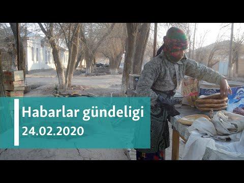 Habarlar Gündeligi - 24-nji Fewral, 2020-nji ýyl