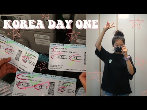 TRAVEL WITH ME! ARRIVING IN KOREA + DAY ONE | Cherryne Lee