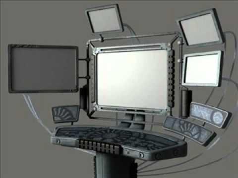 3D Model Computer Terminal (SciFi) Review