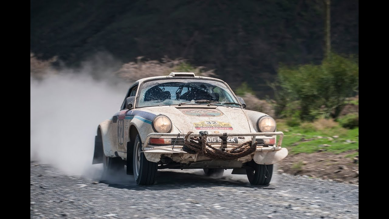 Tuthill Porsche on the East African Safari Classic Rally: FULL MOVIE
