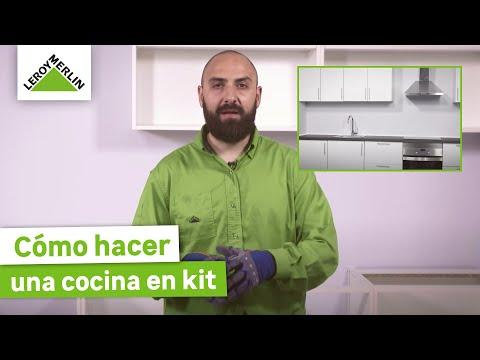 Instalar una puerta corredera encastrable leroy merlin for Montar cocina leroy merlin