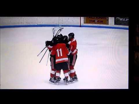 Grand Rapids Hockey vs. Hibbing-2 minute Highlights-Jan. 14, 2016