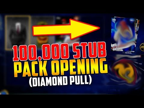 MASSIVE 100,000 STUB PACK OPENING! *DIAMOND PULL* | MLB The Show 17 | Diamond Dynasty
