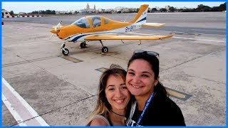 First Flight in a Small Airplane!! ✈ Malta