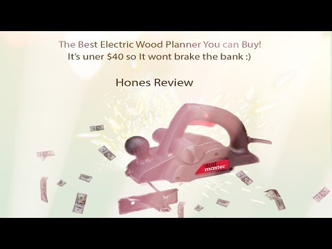 The Best Electric Wood Planer You can buy in USA!