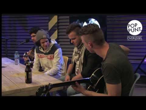 De Nieuwe Stempel,  interview en akoestische sessie op showcasefestival  'De IJssel Stroomt Over'.