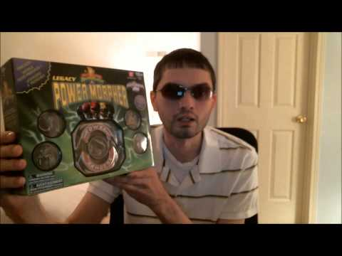 Mighty Morphin Power Rangers Legacy Morpher Unboxing Video (ToysRUs).