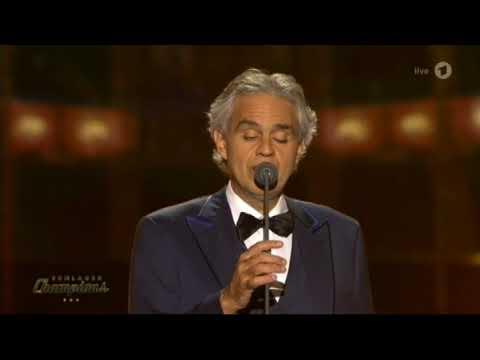 Andrea Bocelli - Con te partiro (Schlagerchampions 13-1-2018)