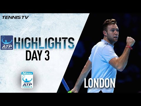 Day Three Early Highlights Nitto ATP Finals 2017
